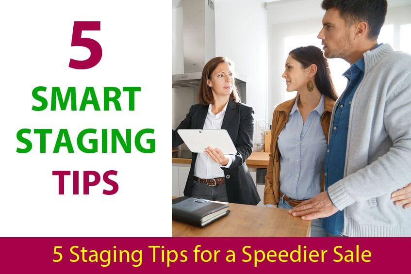 Getting Your Home Ready to List: 5 Smart Staging Tips for a Spedier Sale
