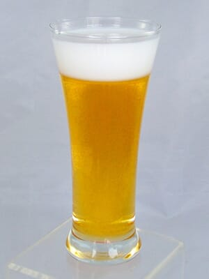 Fake Beer in a Pilsner Glass