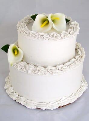 Fake 2 Tier Wedding Cake (2 tiers)