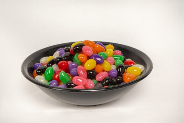 Large Bowl of Fake Jelly Beans