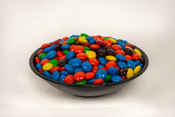 Small Bowl of Fake M & M's