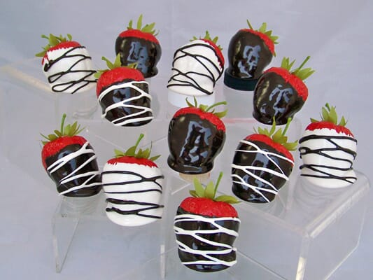 Chocolate Candies and Dipped Fruit