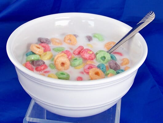 Cereal Bowl--Fruitloops