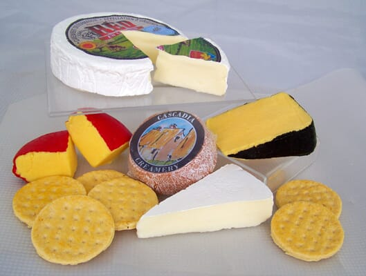 Small Assorted Fake Cheese Package