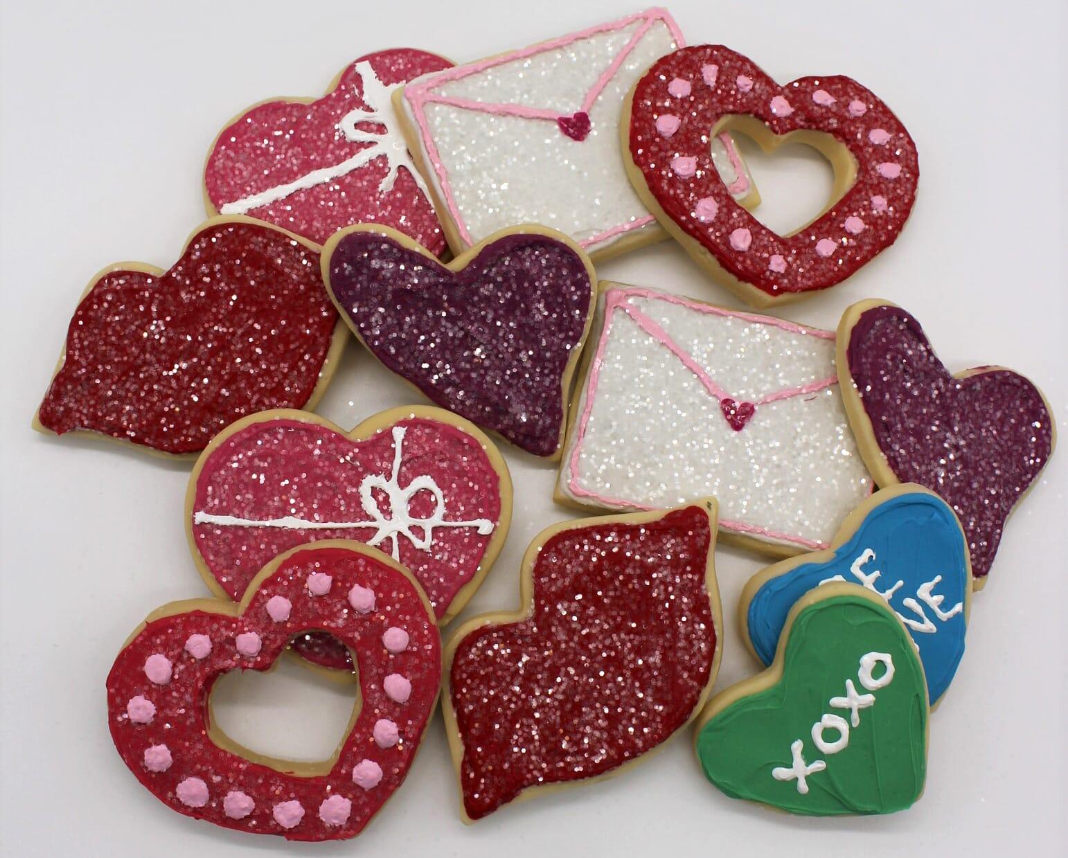 Fake Valentine Cookies (1 dozen)