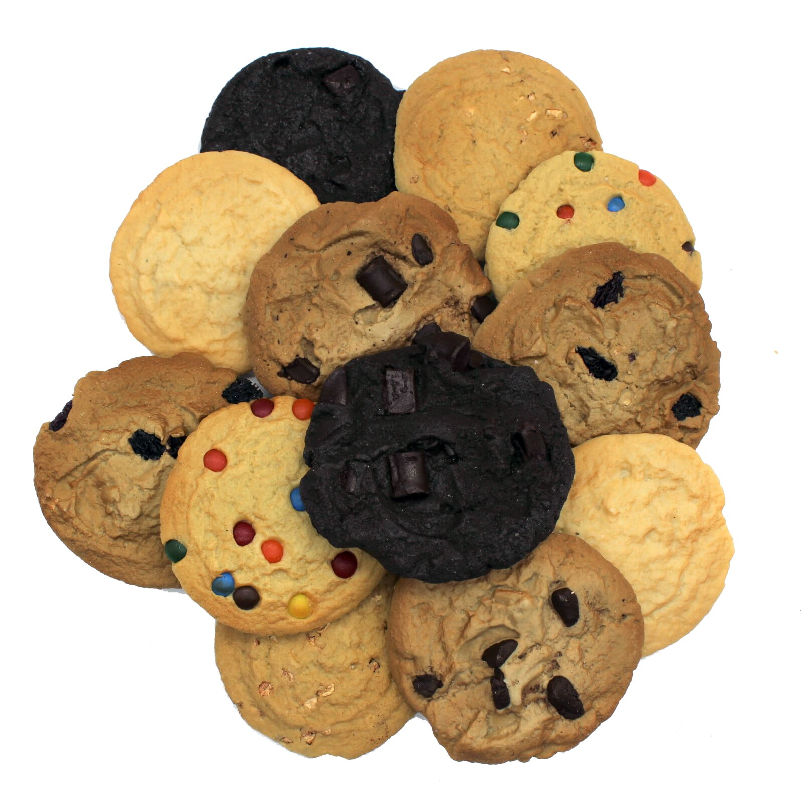 Artificial Large Traditional Cookies (1 dozen)