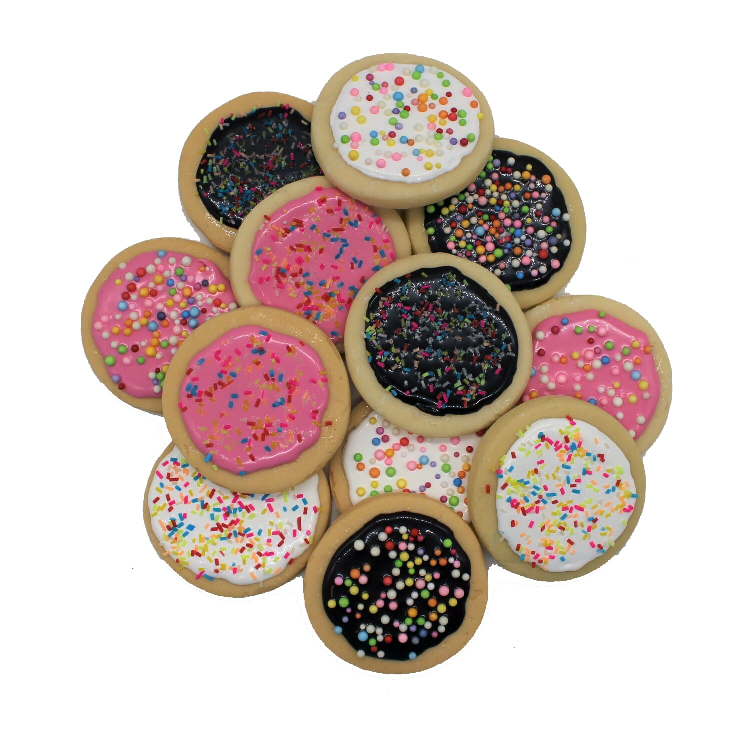 Fake Assorted Frosted Sugar Cookies (1 dozen)