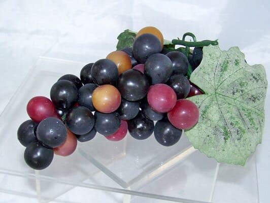 Fake Purple Grapes