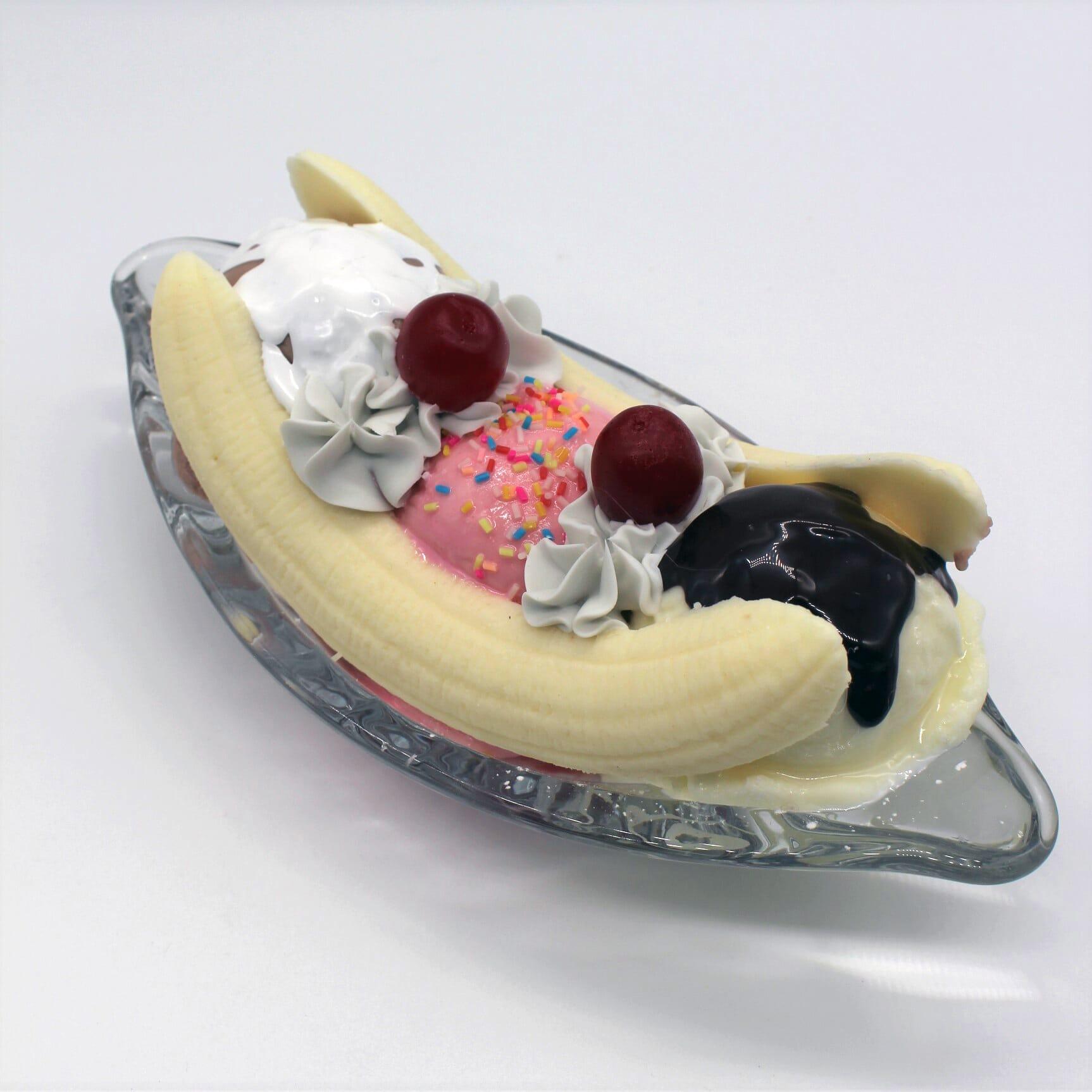 Fake Banana Split