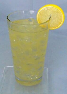 Fake Glass of Lemonade