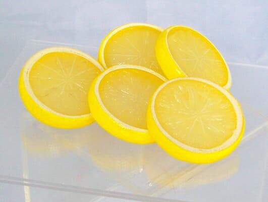 Fake Lemon Slices