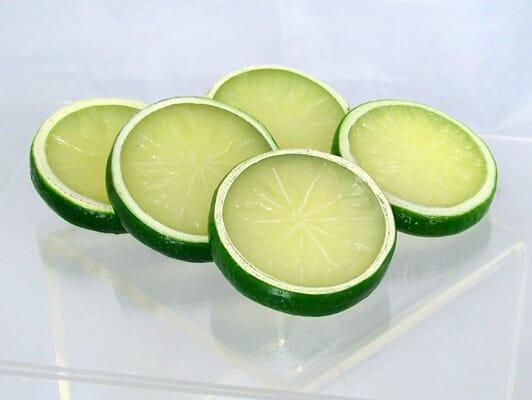 Fake Lime Slices