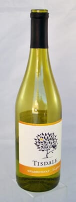 Fake Bottle of White Wine