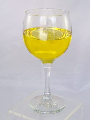 Fake Glass of White Wine
