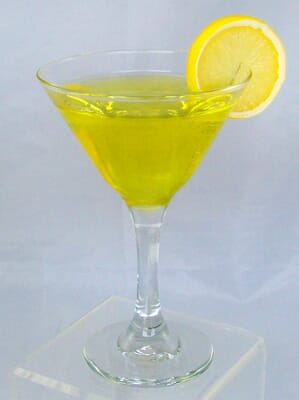 Fake Lemon Drop Martini