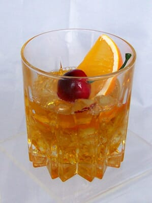 Fake Old Fashioned Drink