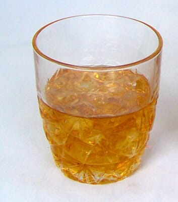 Fake Whiskey Glass