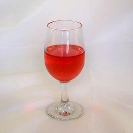 Fake Glass of Zinfandel