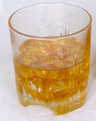 Fake Scotch Glass