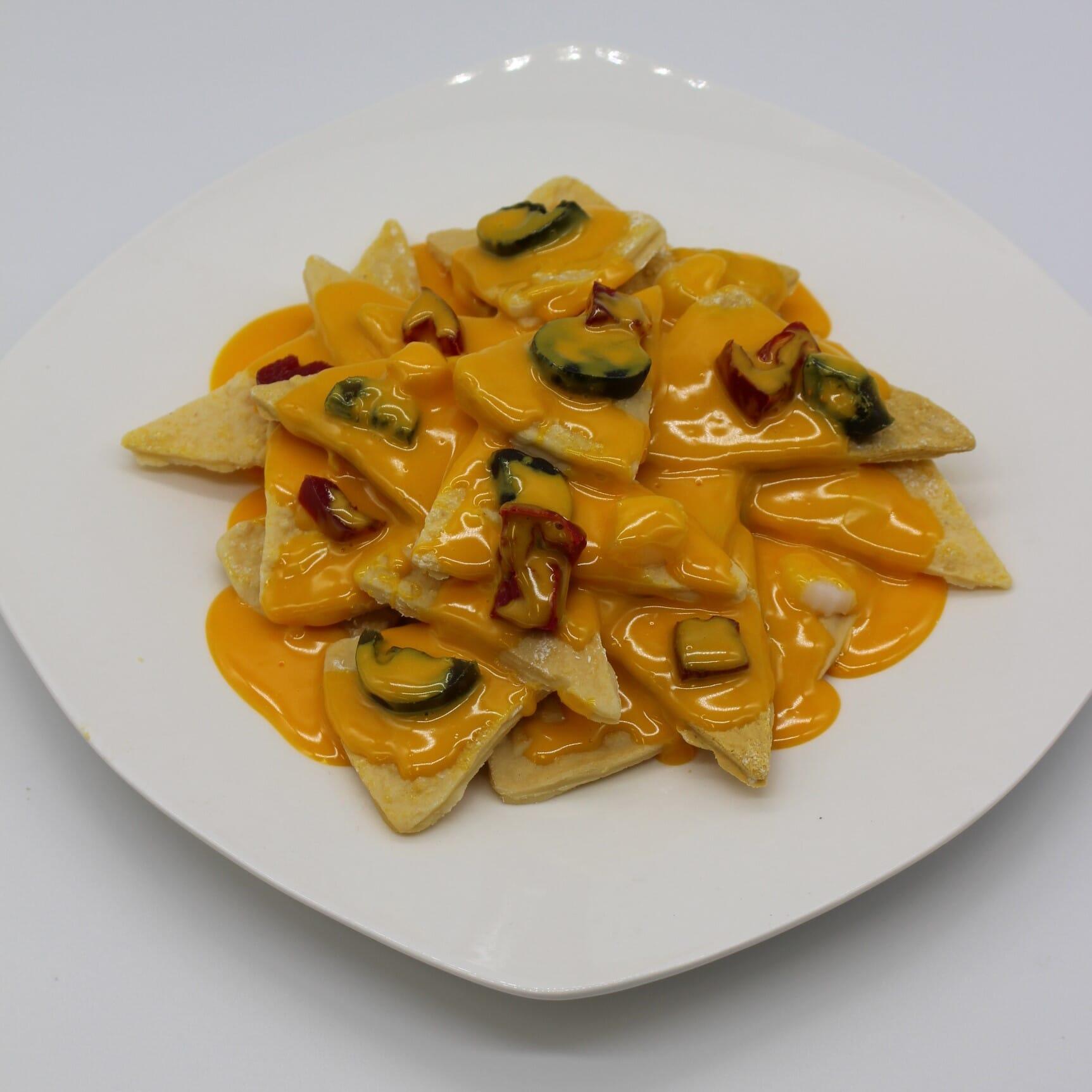 Fake Nachos with Cheese Sauce