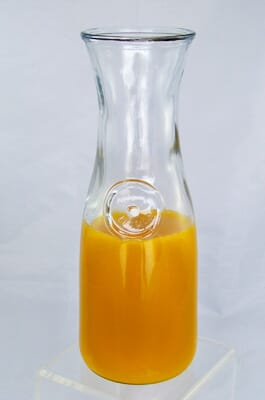 Fake Orange Juice Carafe