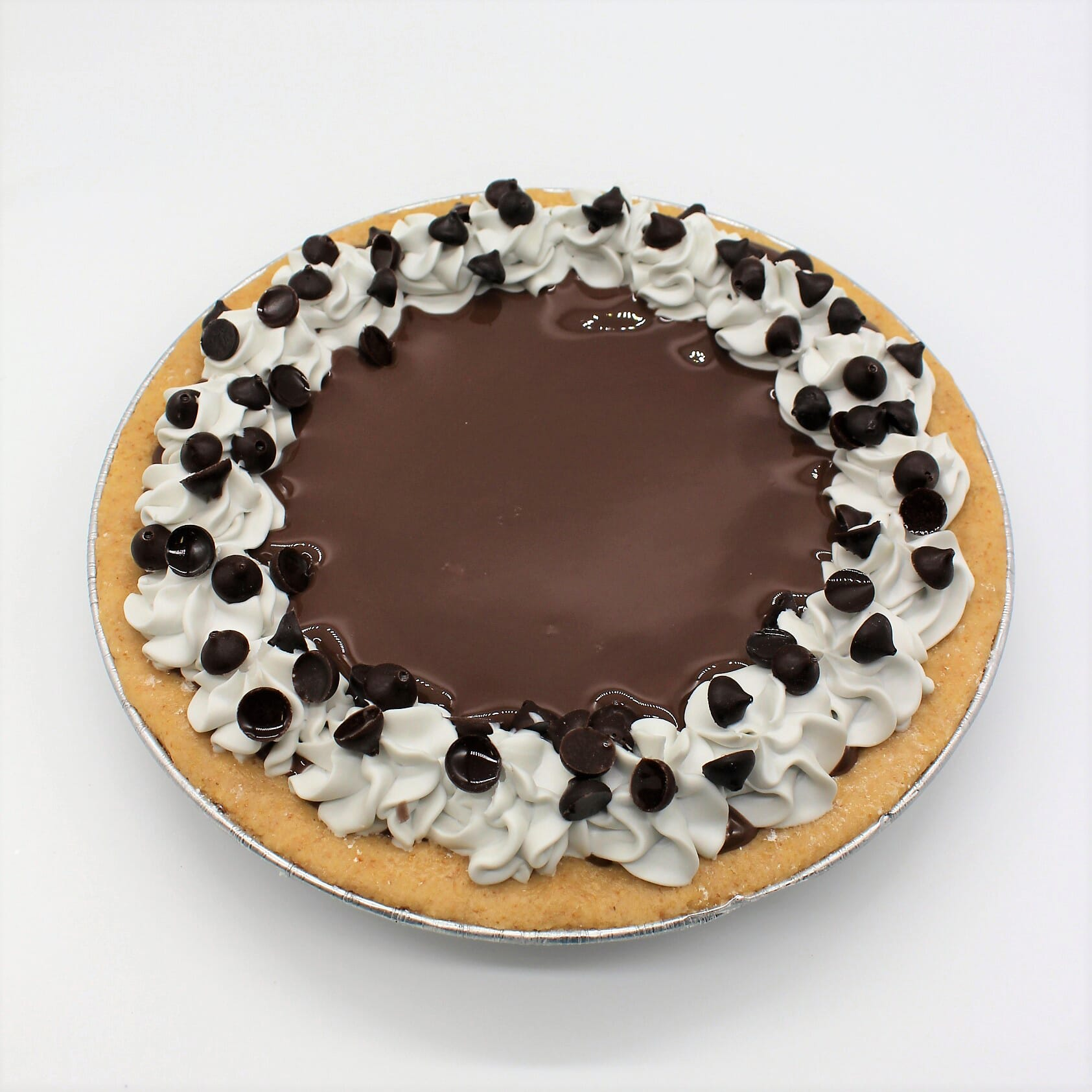"Fake 9"" Chocolate Cream Pie"