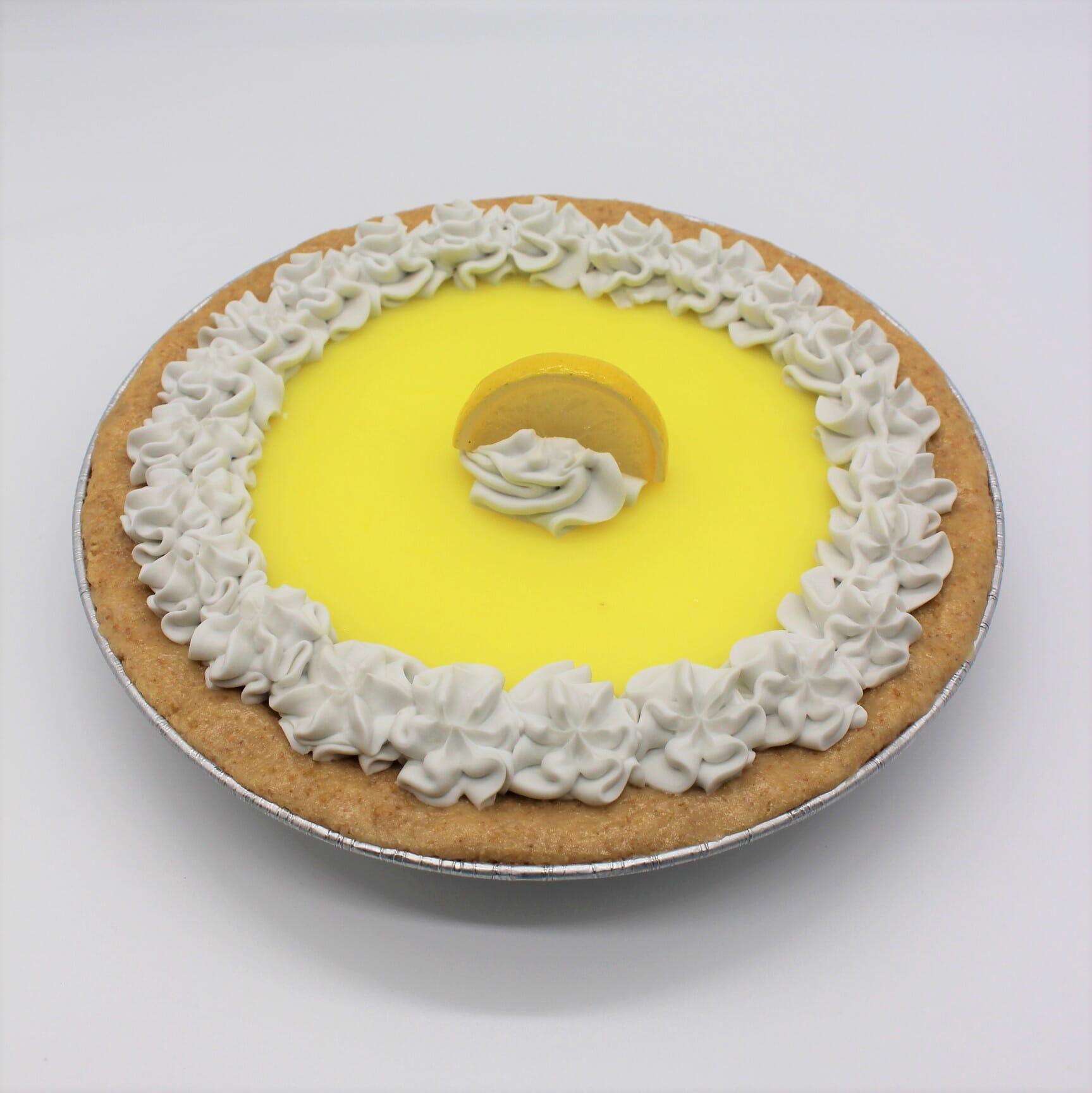 "Fake 9"" Lemon Pie"
