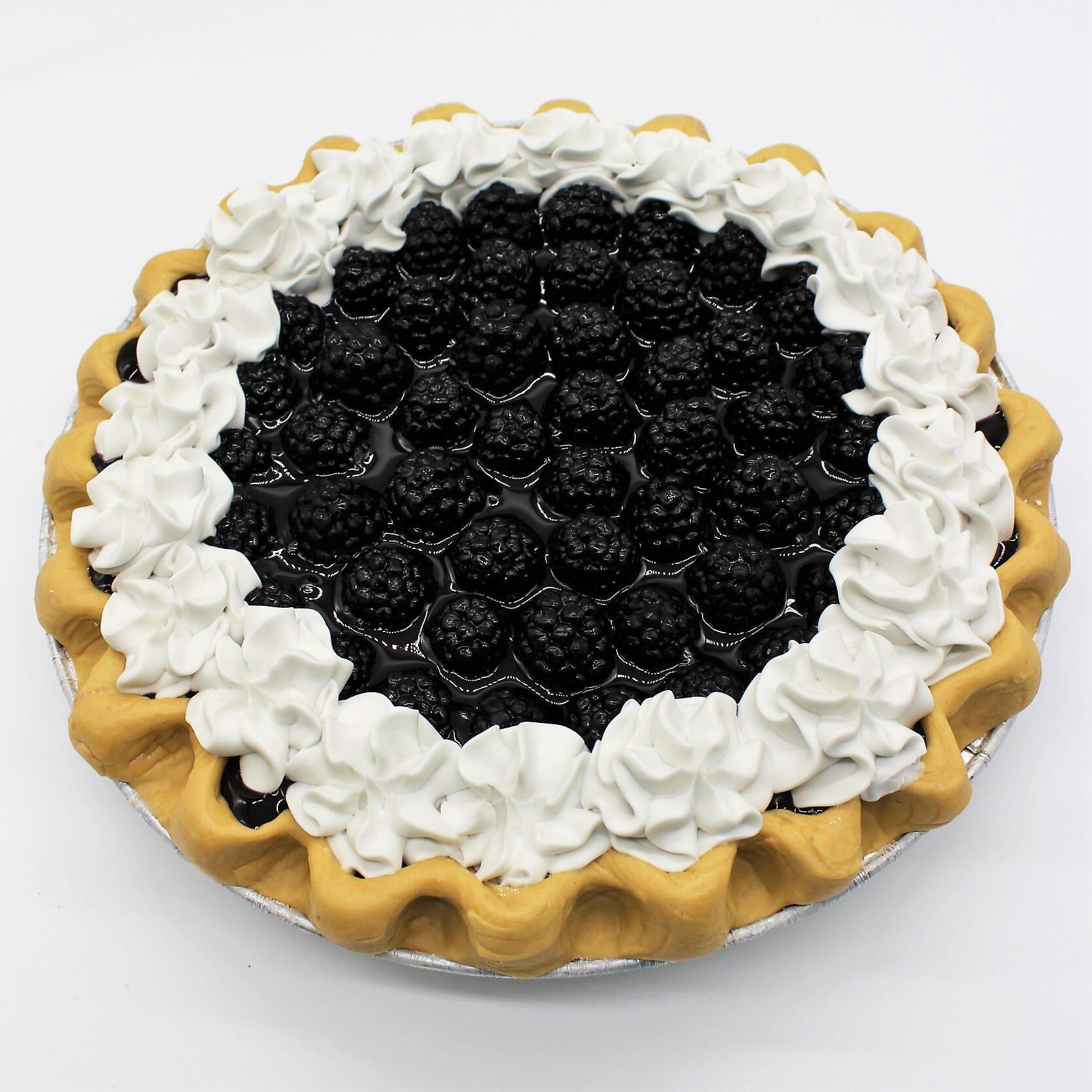 "Fake 9"" Blackberry Pie"