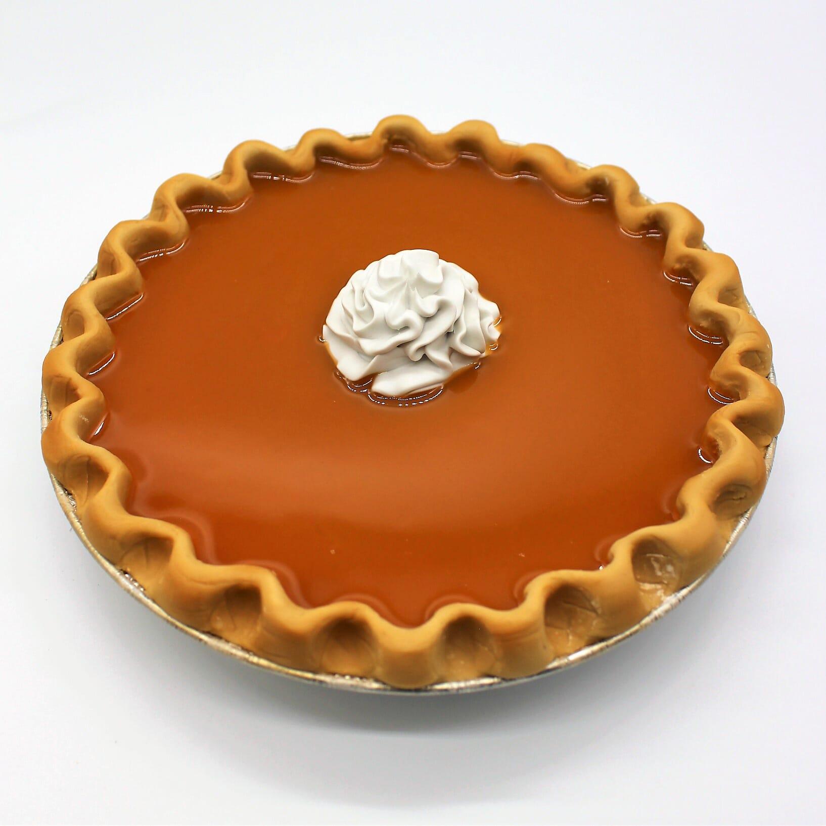 """Fake 9"""" Pumpkin Pie"""