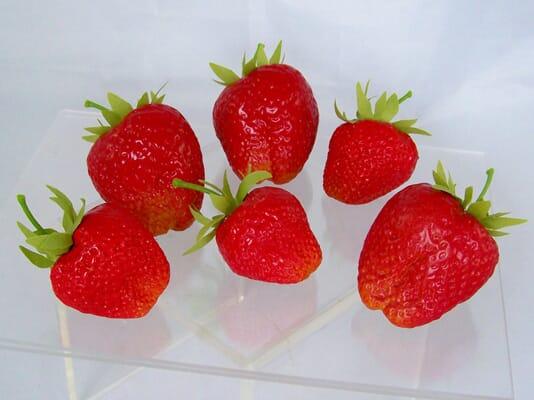 Fake Strawberries (Set of 6)