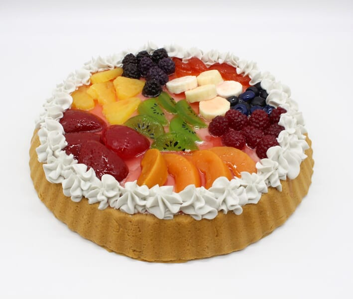 Fake Large Mixed Fruit Tart
