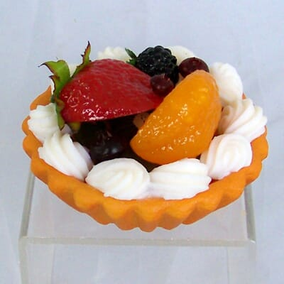 Fake Mini Mixed Fruit Tart