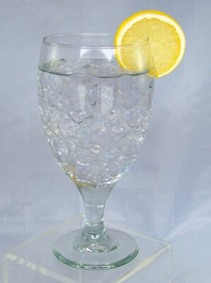 Fake Glass of Water