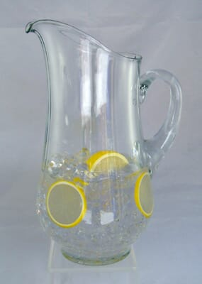 Fake Pitcher of Iced Water