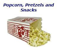 Fake Popcorn & Snacks