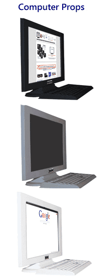 Desktop Computer Props
