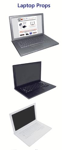 17 Laptop Props
